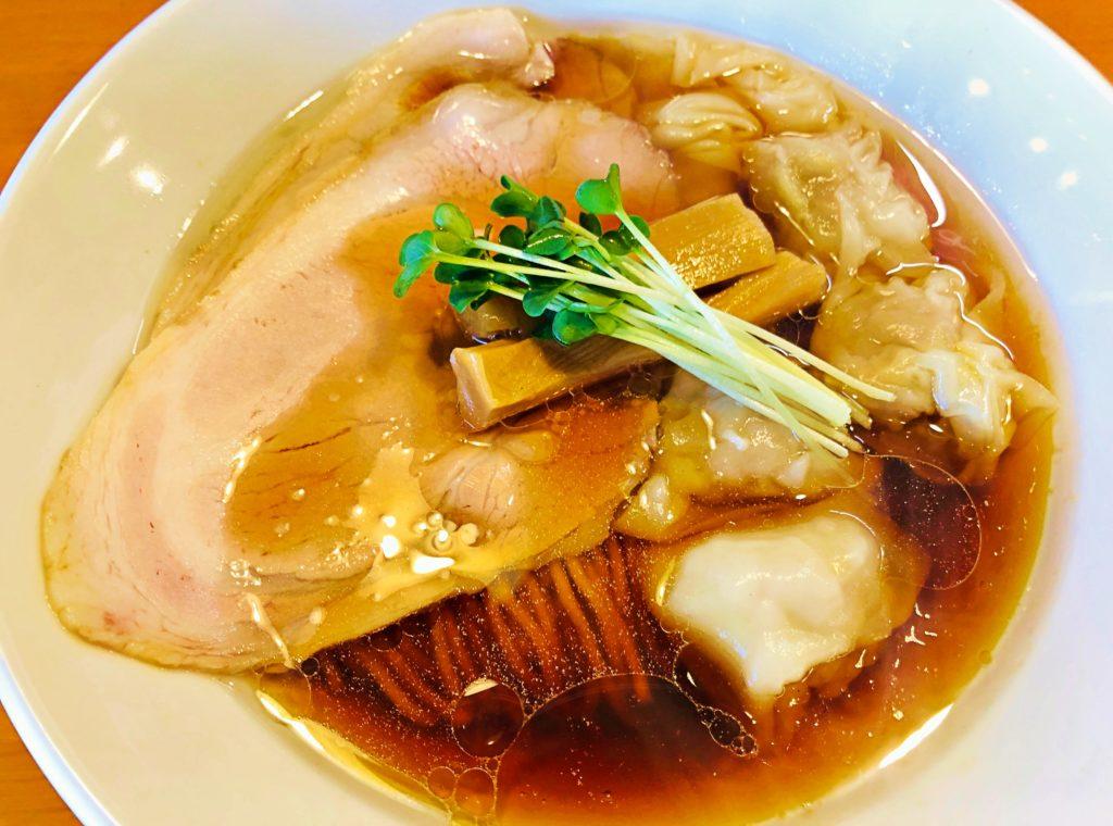 麺処清水の「中華そば」