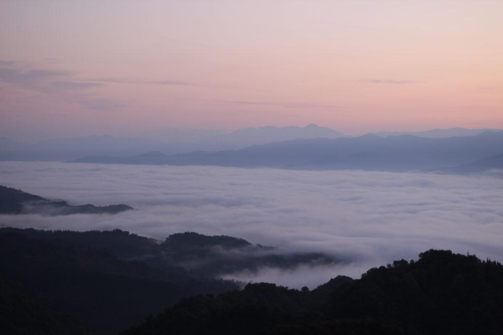 南魚沼市の雲海