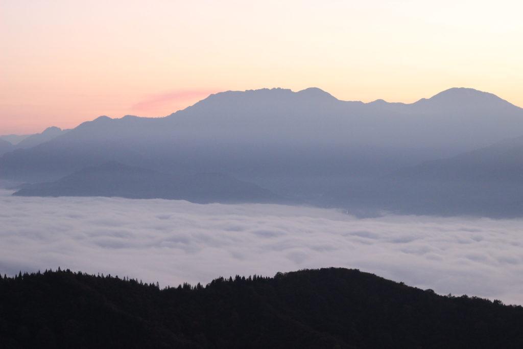新潟県の雲海