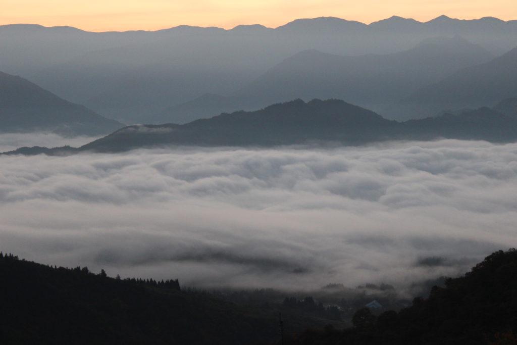 坂戸山 雲海