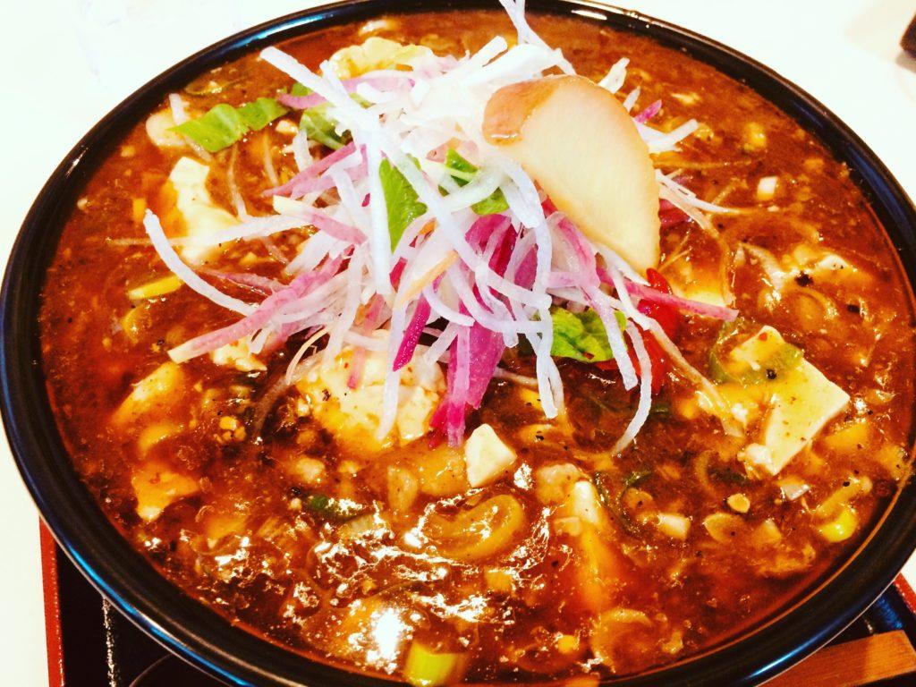 21.らー麺天心【南魚沼の麻婆ラーメンが日本で一番美味い】と宣言する