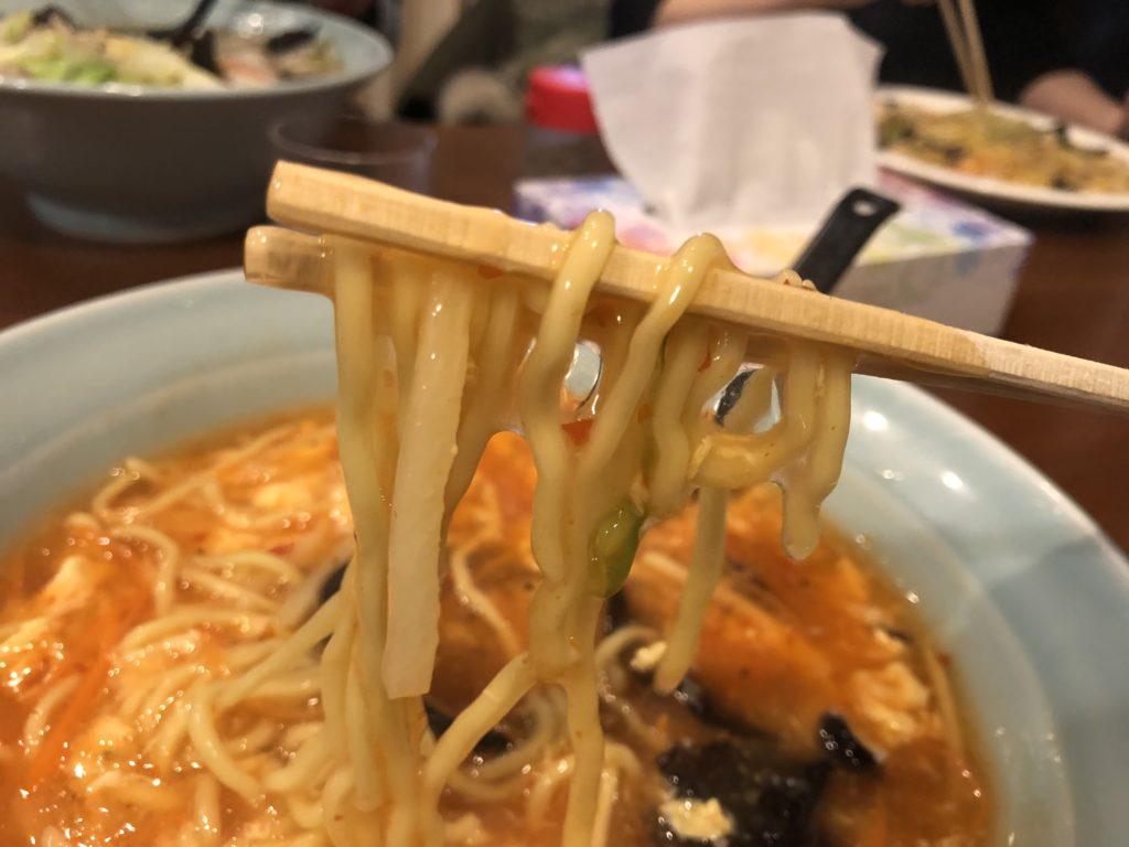 華龍飯店【長野市穂保】サンラータン
