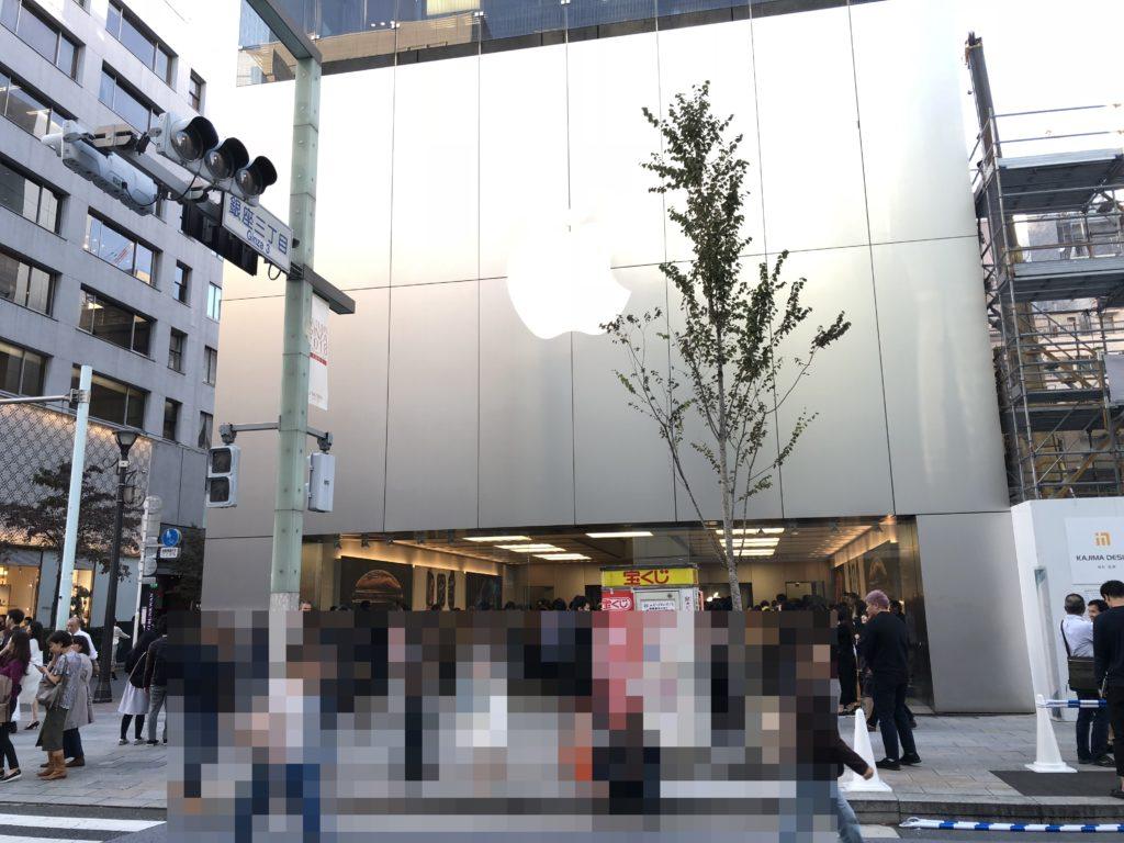 Apple store【銀座】外国人