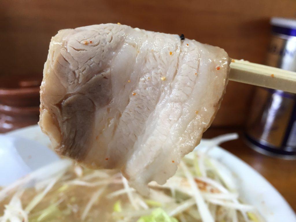 喜八のねぎみそラーメン(中辛)850円