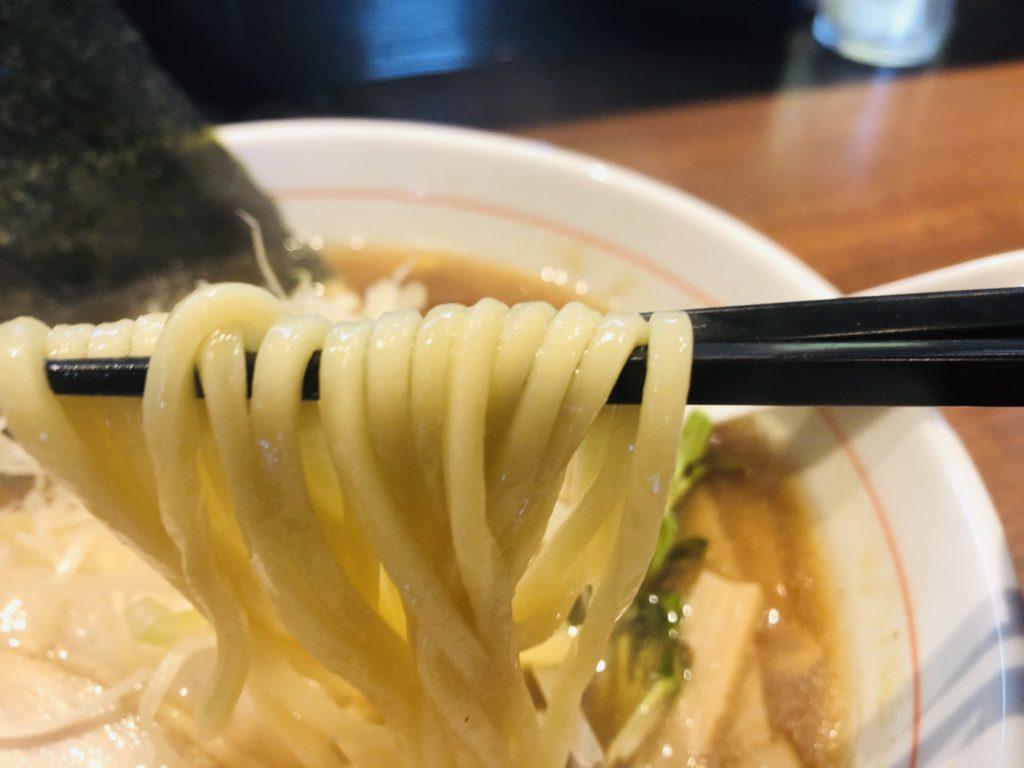 らーめん円満「煮干醤油らーめん」