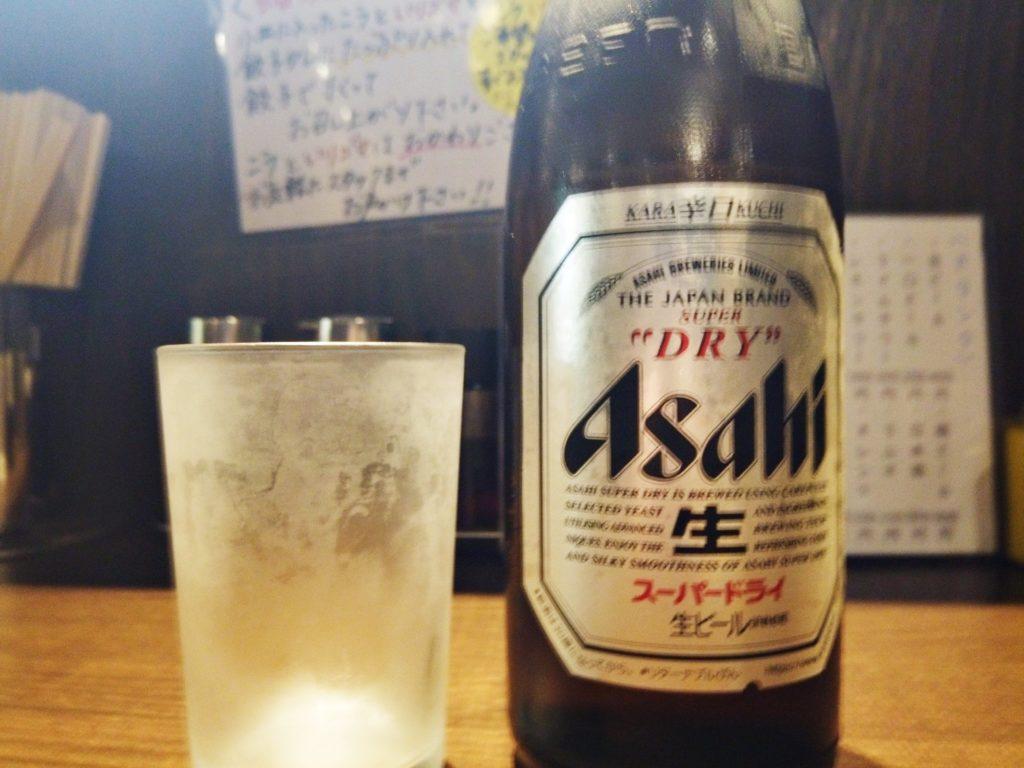 麺屋 しゃがら 新潟駅 ラーメン ビール