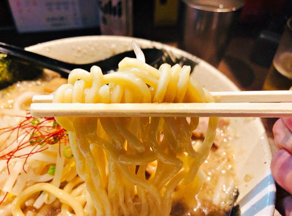麺屋 しゃがら 新潟駅 ラーメン 麺