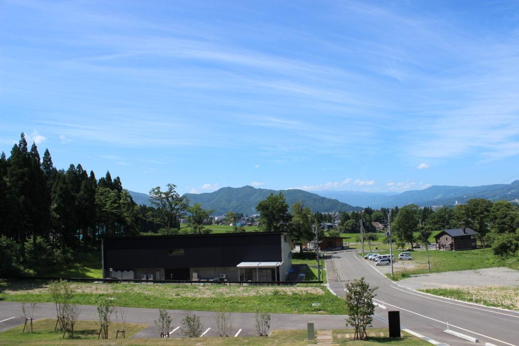 猿倉山ビール醸造 駐車場