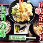 上田の郷【南魚沼】そば打ち体験もできて本気丼も食べられるぞっ!