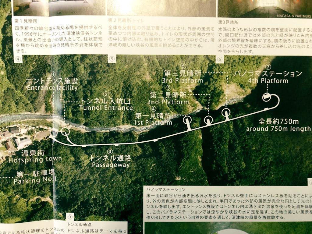 清津峡渓谷トンネル 所要時間