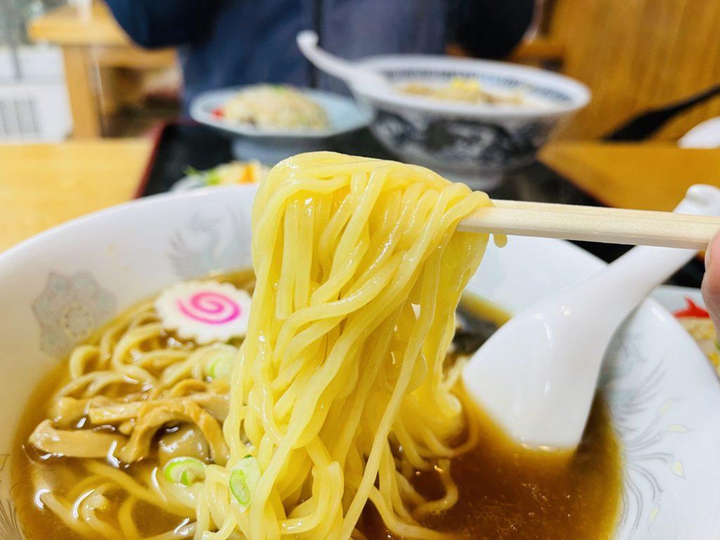 栄飯店 麺