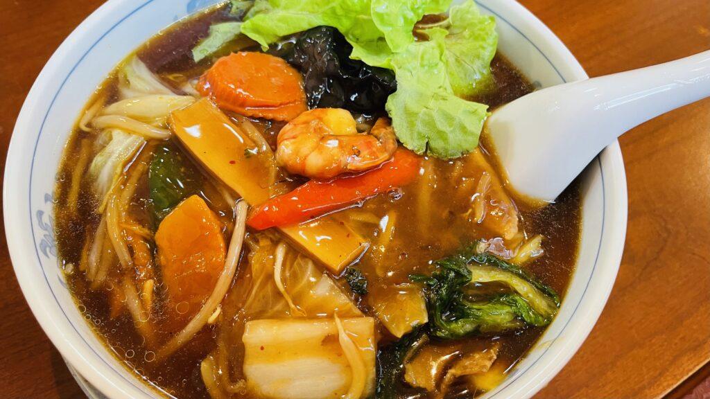 広東麺 塩沢