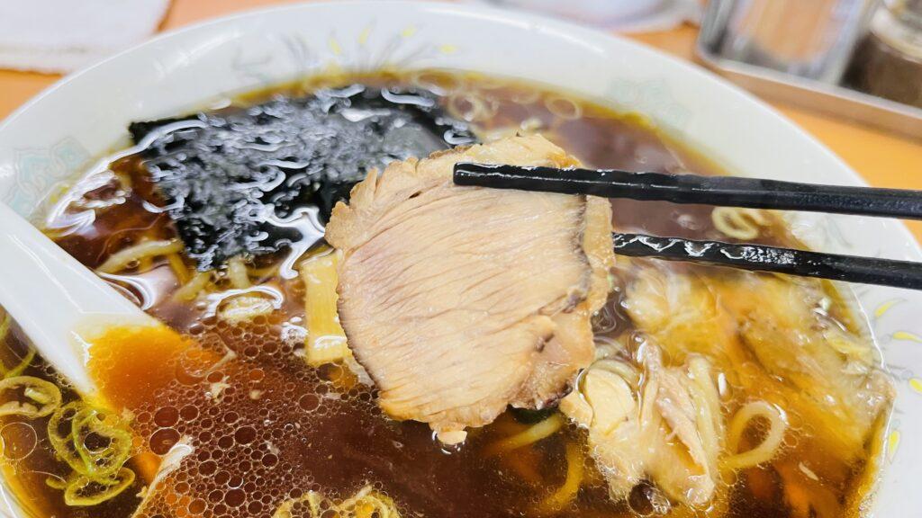 青島食堂 チャーシュー