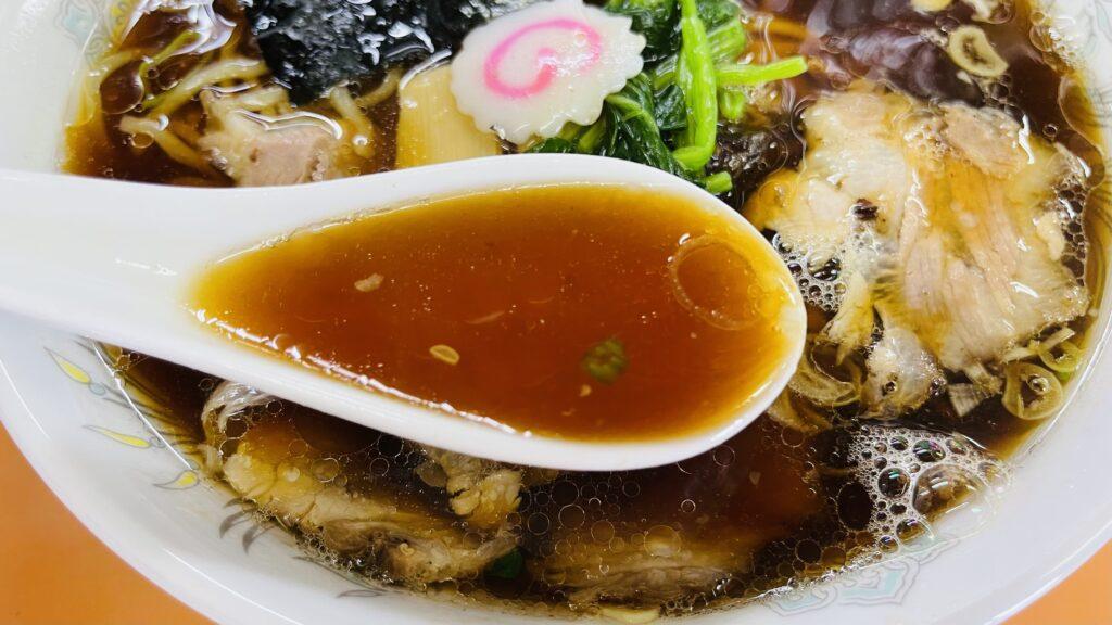 青島食堂 スープ