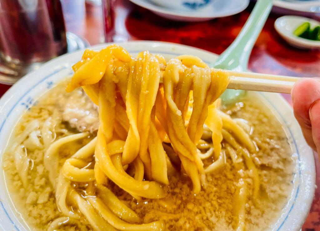 杭州飯店 麺